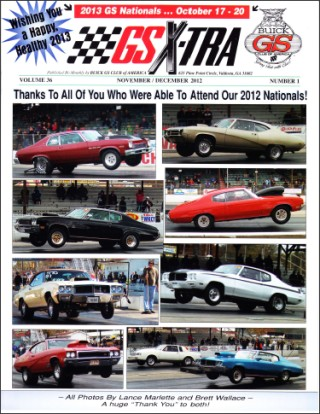 GSX-TRA - Published by Buick GS Club of America
