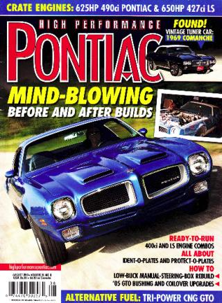 High Performance Pontiac - Cover
