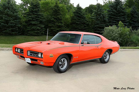 1969 Pontiac GTO Judge, Ram Air III 400