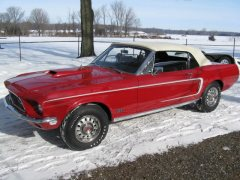 1968 Ford R code 428 CJ Mustang GT Convertible