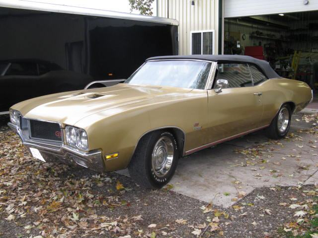 Buick Tires Stanton >> 1970 Buick GS Stage 1 Convertible - Future Projects Vehicles - Pure Stock Auto Restoration Inc.